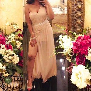 Dusty Rose Prom/ Evening Dress